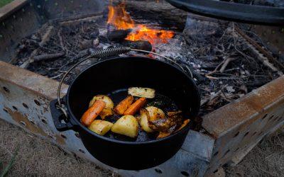 Camp Oven Veggies