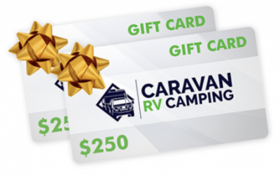 2 x $250 Caravan RV Camping Gift Voucher Father's Day GIVEAWAY!