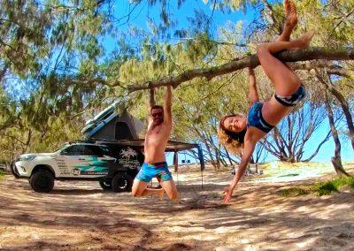Just hangin' round