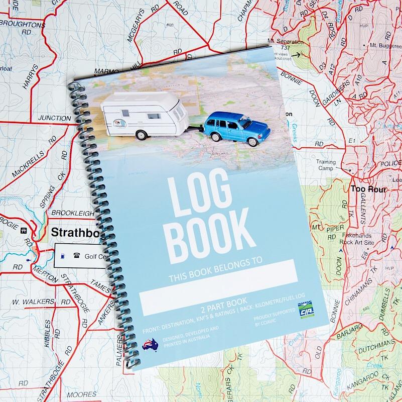 Log Book Aussie Destinations Unknown