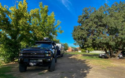 Riverina Hotel Free Camp, Holbrook NSW